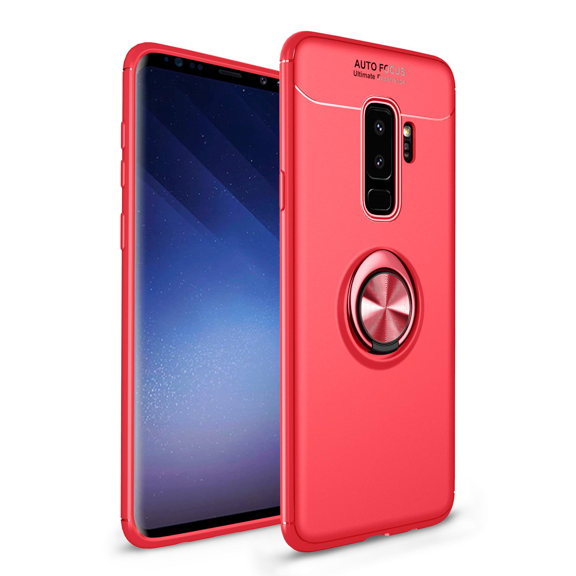 2018 NEW Factory Shockproof PC + TPU Auto Focus Phone Case with Magnetic for Samsung S9