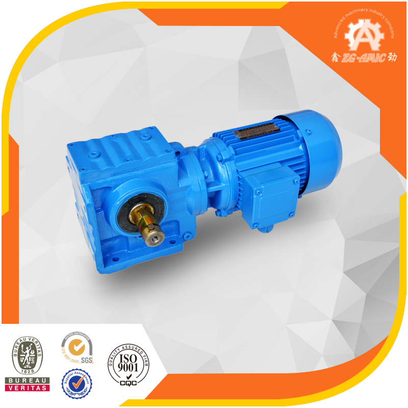 Factory price S series helical worm industrial AC gear motor