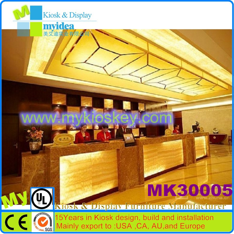 custom modern commercial office front counter designwood front desk counter - Hotel Front Desk Counter Design