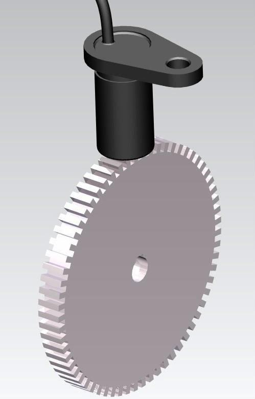 Hall Effect Gear Tooth Sensor Cygts104u (for Large Gear Modulus ...