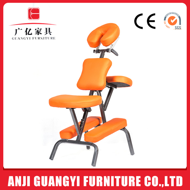 GY-A01 Foshan top sale salon swivel commercial massage chair with chrome base