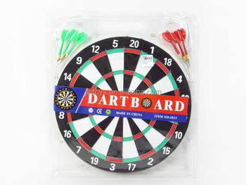 14 Inch Wooden Dartboard Toy Kids Dart Game Buy Wooden Dartboard