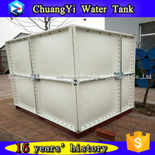 Hot selling frp fire fighting water storage tank/GRP Water Tank for Drinking Water/combined-type smc water tank