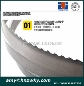 Bandsaw blades band saw blade for hard and soft metal ,wood,steel cutting