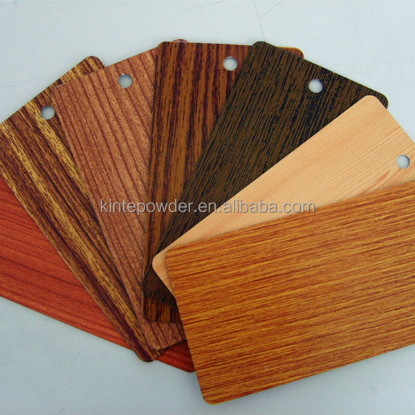 Heat transfer wooden effect Powder <strong>Coatings</strong> for furniture paint