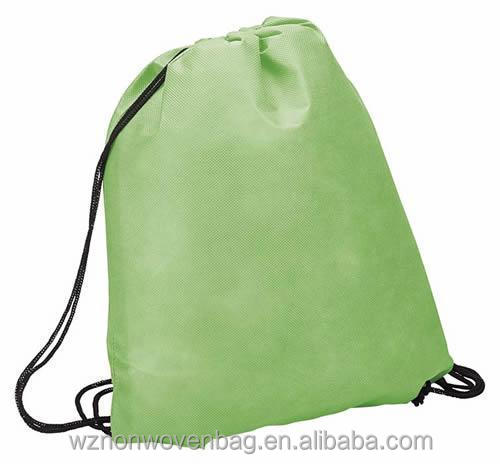Promotional Gift Small 80gsm PP Nonwoven Fabric Cheap Drawstring Bag