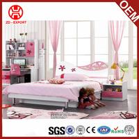 Romantic kids bedroom furniture sets wholesale JB9038