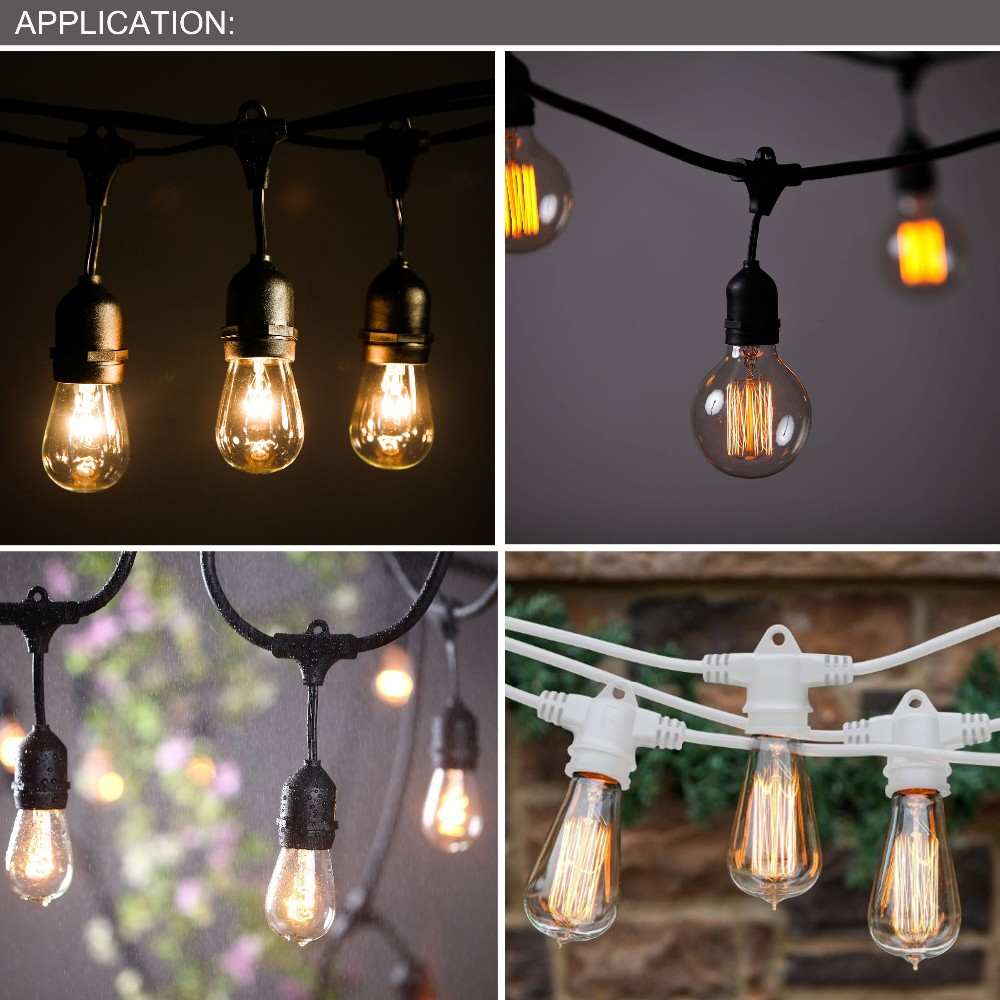 2015 Wholesale Wedding Decoration Led String Light Outdoor Party Tree Ul Sjtw 14awg/2c 54ft ...