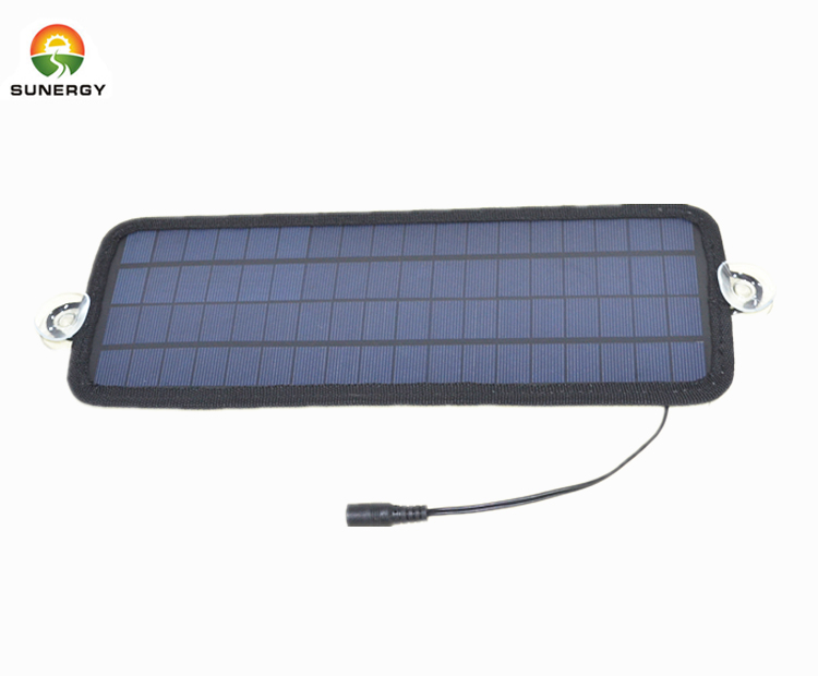 hot sale 18V Solar Car Battery Charger 4.5W Portable Panel 12V car battery charger