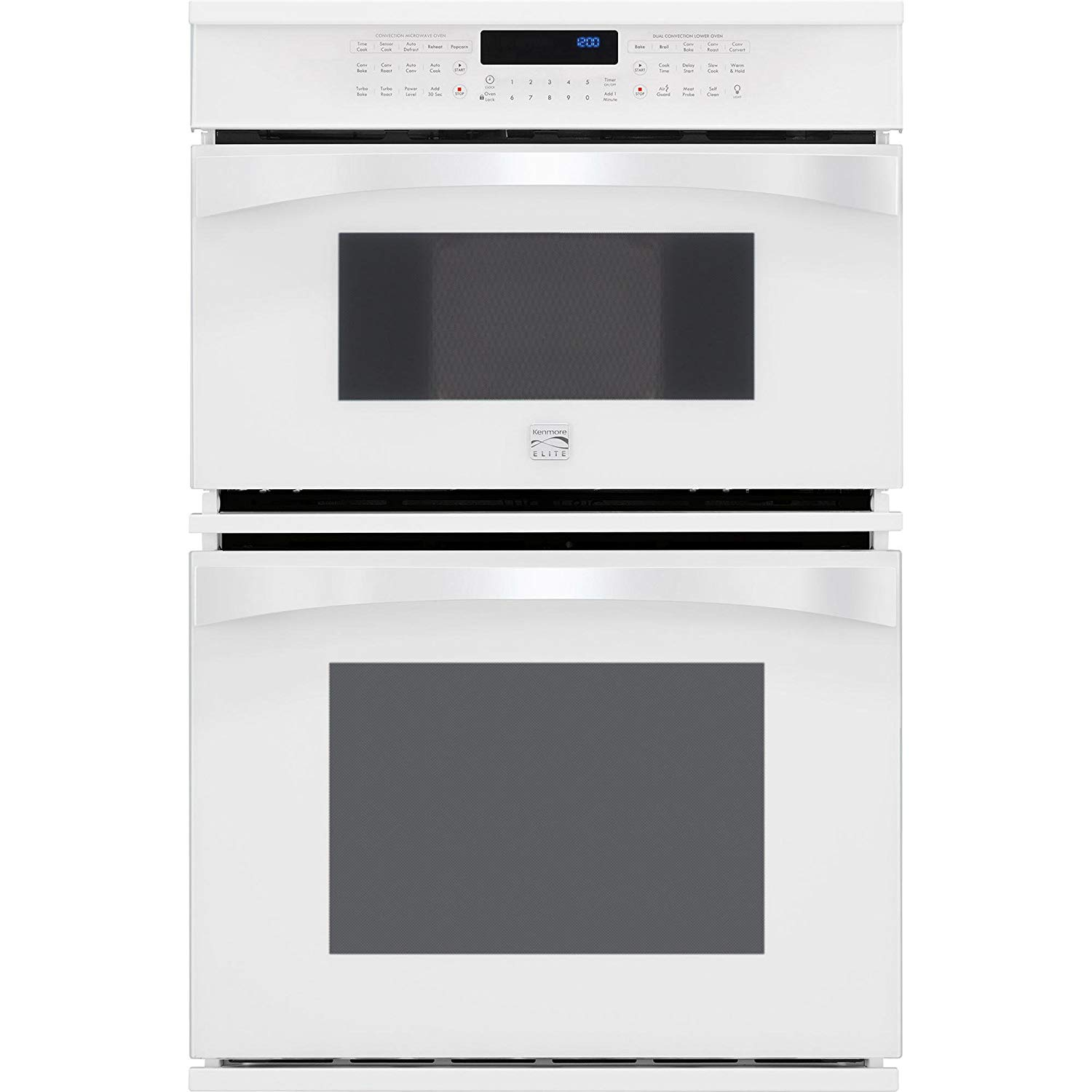 Cheap Best Microwave Combination Oven Find In Terms Of A Multiple Control You39ll Need One As Shown The Get Quotations Kenmore Elite 49112 30 Electric Wall White Includes Delivery