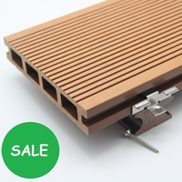 Eco friendly wood plastic composite decking floor diy deck flooring