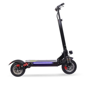double motor electric scooter with seat