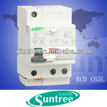 C65L series mcb mccb circuit breaker rccb earth leakage