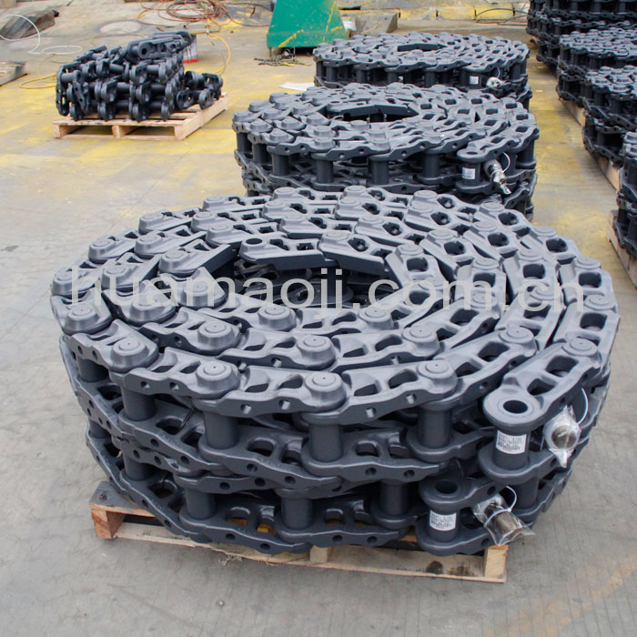 EX200 track chain,chain link assy,Idler link