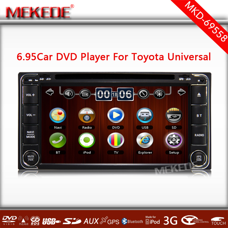 Special Car DVD for <strong>TOYOTA</strong> RAV4 <strong>COROLLA</strong> HILUX Land Cruiser Prado Fortuner with GPS+<strong>TV</strong>+IPOD+Bluetooth+Radio+4GB CARD Free map