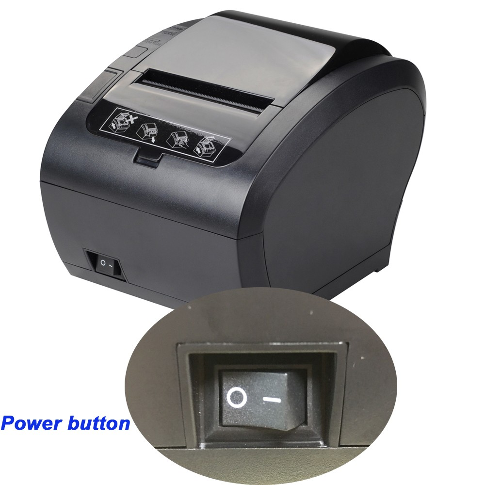 80mm thermal receipt printer with USB/WIFI/RS232 Port