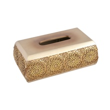 Factory embroidered holder house DIY resin tissue box cover