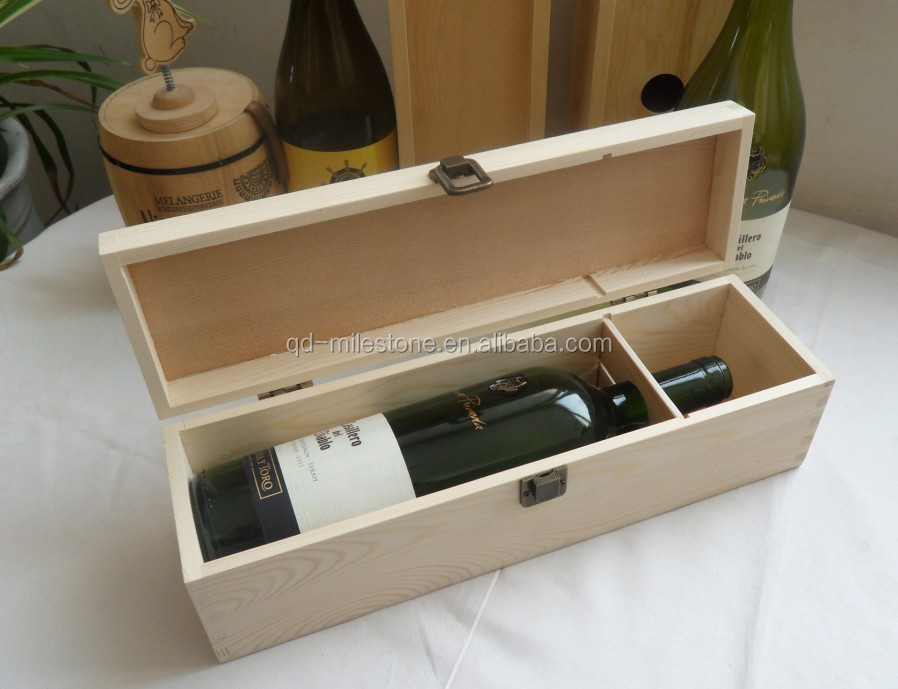 Custom wood wine box gallery of timothy and nichole for Timber wine box