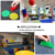 China custom wholesale 8 colors rug markers seating floor adhesive round spots markers