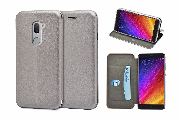 for Xiaomi 5S plus case, Newest full curved flip leather wallet case for Xiaomi 5S plus