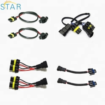 universial light wire harness male female connector electrical automotive car light headlight wire looms buy automotive headlight wire looms,car  automotive headlight wiring harness #4