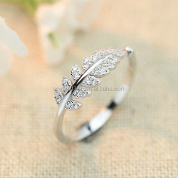Joker Style Knuckles Open Small Ring Leaves Decorate Inlay Shiny Cz Diamond Zircon Accessories Buy Knuckles Open Small Ring Leaves Decorate Inlay