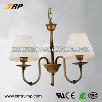 Hot sale classic Lighting interior decoration 3 light chandeliers