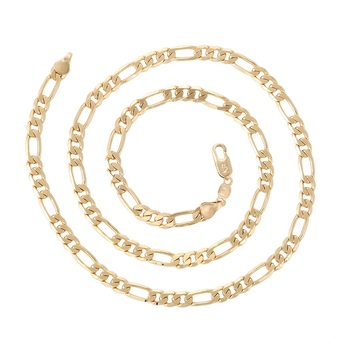 44754 Xuping  Jewelry 18K Gold Plated  Man  Chain Necklaces