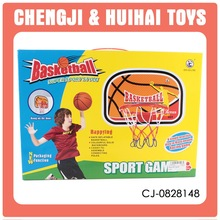 Sport game plastic entertaiment toy basketball ring and board