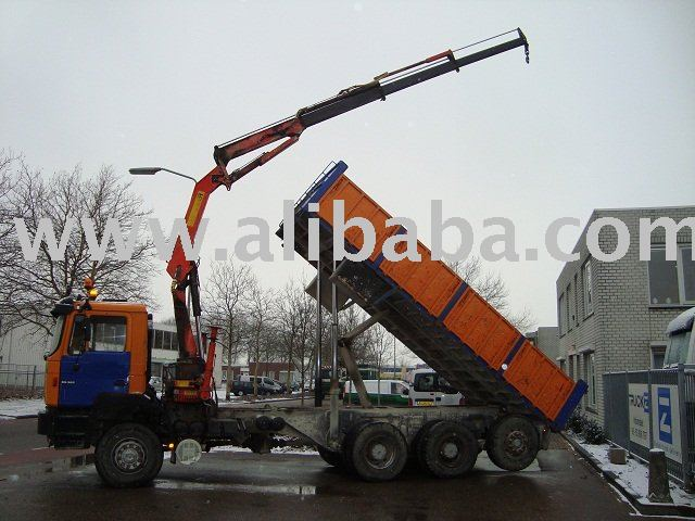 used trucks man 36 365 8x6 cran kipper buy used trucks product on