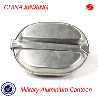 CHINA XINXING High Quality Cheap Army Military Stainless Steel Canteen Mess Kit Mess Tin