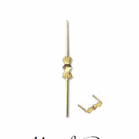 High quality hooks Crystal brass pins for chandelier, clip
