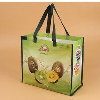 Factory Price High Quality Gift Promotion glossy laminated non woven tote bag