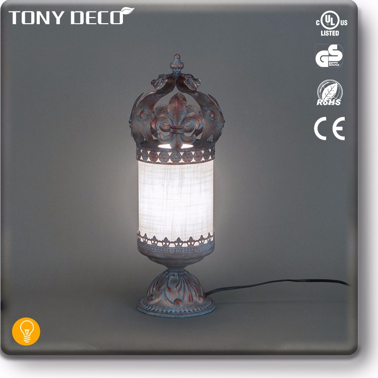 BAA65658 Unique Multi Color Metal China Float Table Lamp