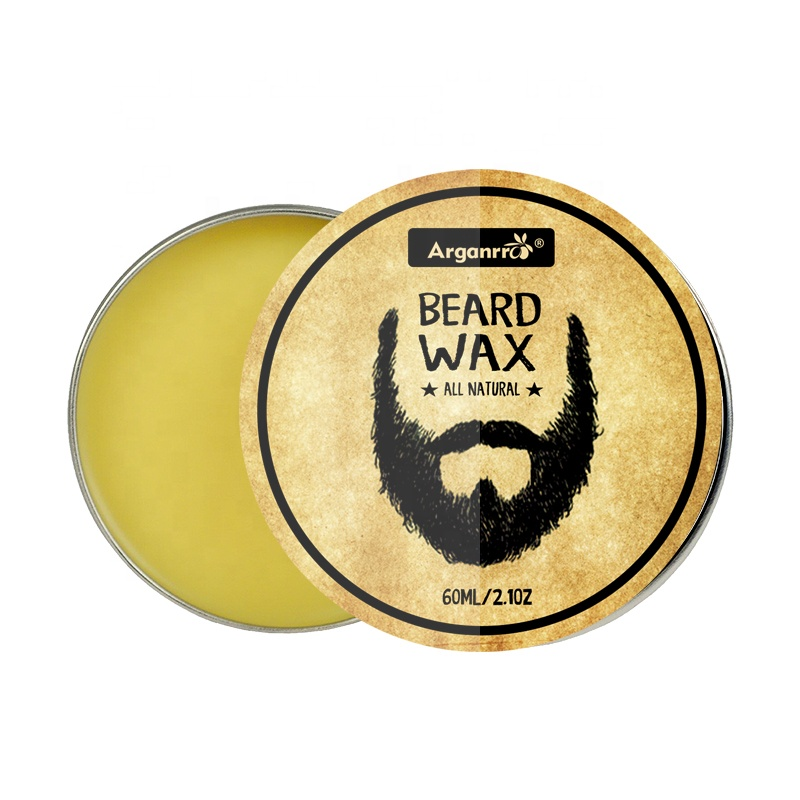 Arganrro private label biologische baard snor wax 60g