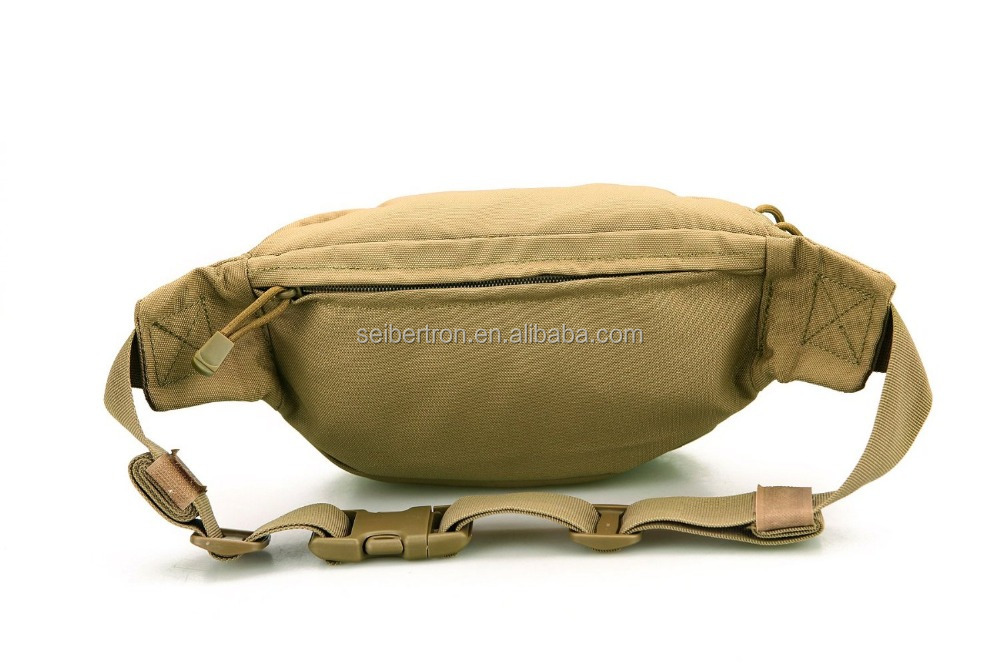 Seibertron Military Outdoor casual riding running Race waist bag multi-function chest bag
