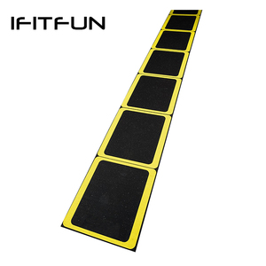 Speed training rubber agility ladder