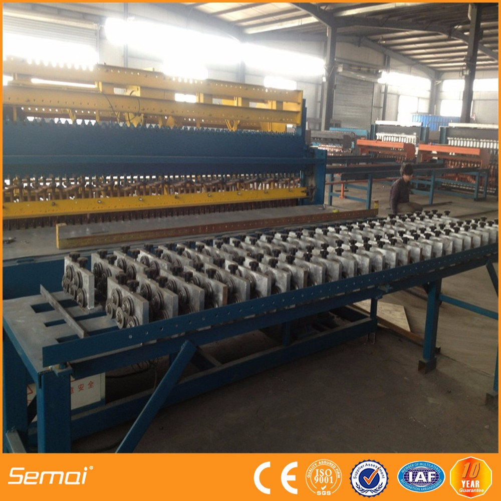 Production plant steel mesh, except reinforcing
