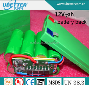 26650 12.8V 7Ah Rechargeable Lifepo4 battery pack for Lead-acid battery