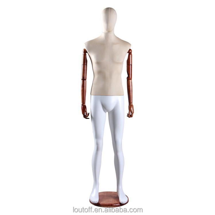 Adjustable Male Dress Form Mannequin With Wooden Arms   Buy Dress Form  Mannequin With Wooden Arms,Male Dress Form Mannequin With Wooden Arms,Adjustable  Male ...