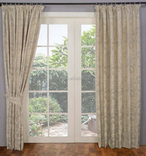 china brand name jacquard blackout window curtain