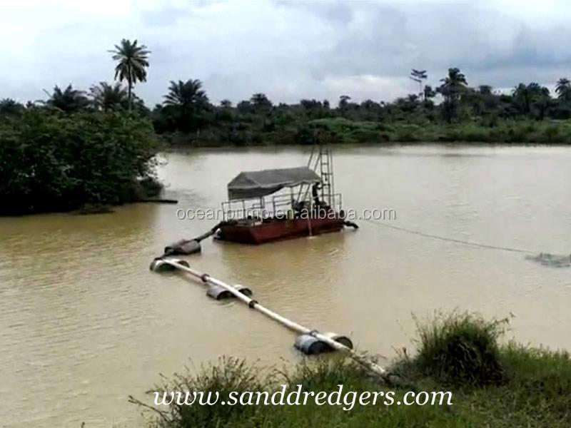 Sand suction dredger