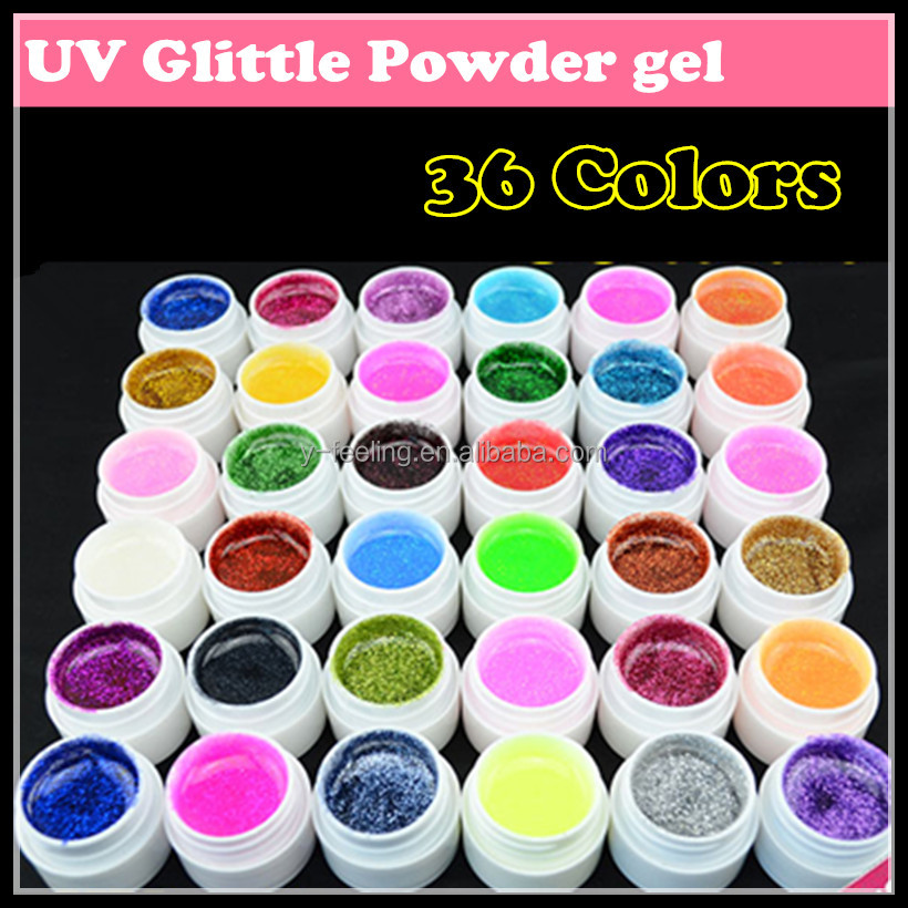 kit gel colorati per unghie
