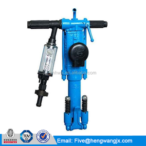 Pneumatic air leg rock drill machine YT28 stone breaking jackdrill for sale