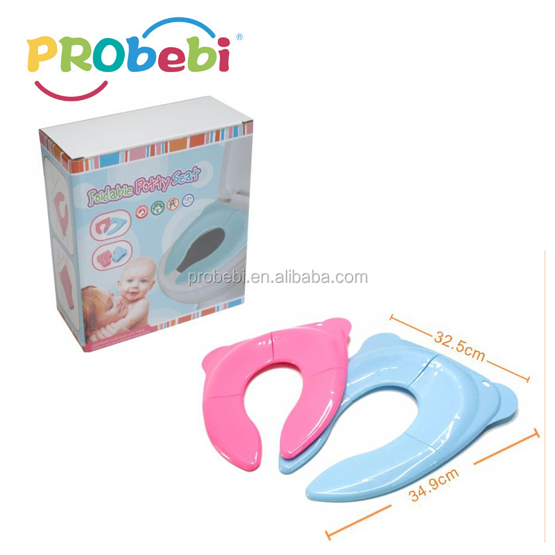 Foldable Travel Potty Seat for Babies Toddlers Potty Seat Toilet Training