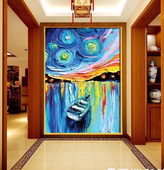 3D Canvas Schilderij Abstract Aangepaste Gepersonaliseerde Hal ...