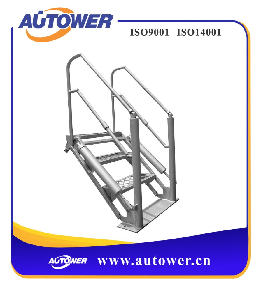 metal anti-fall safety mobile platform ladder
