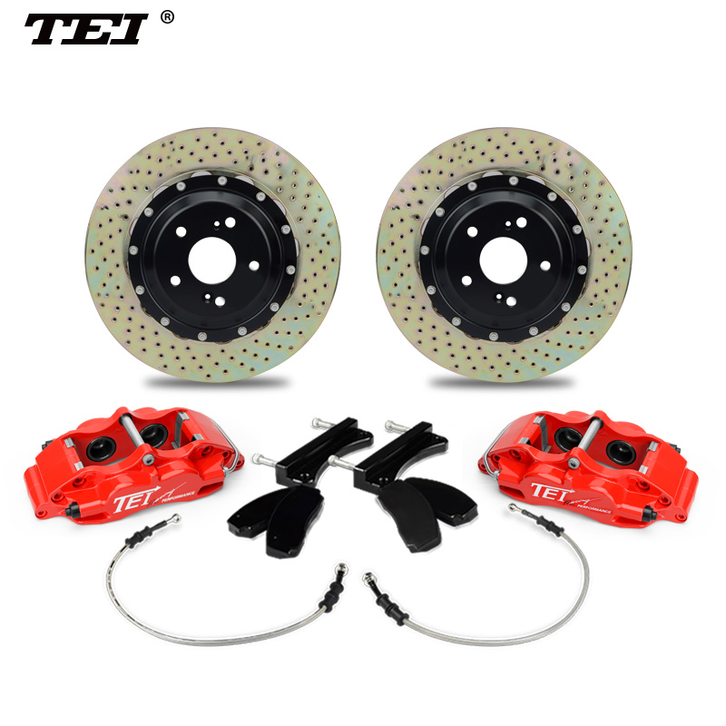 TEI P40 High Performance Aluminum Alloy Forged brake pump drilled disc