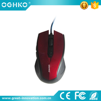 3D USB wired optical mouse with new design