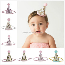 Europe popular stylish baby wide headbands for birthday